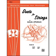 Alfred Duets for Strings Book I Viola