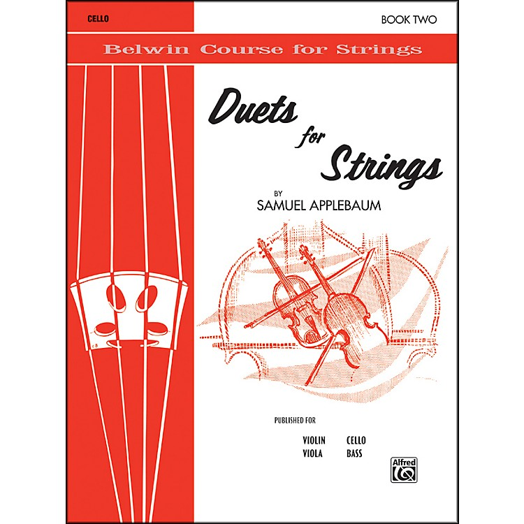 Alfred Duets for Strings Book II Cello