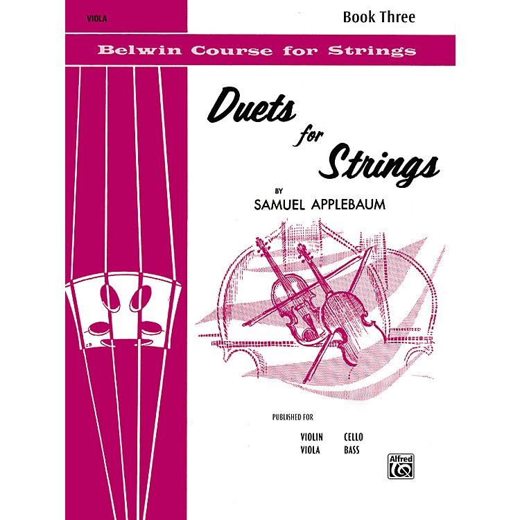 AlfredDuets for Strings Book III Viola