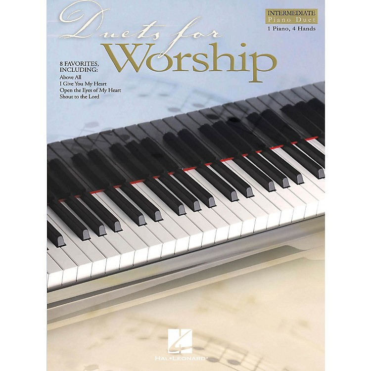 Hal Leonard Duets for Worship Intermediate Piano Duet 1 Piano, 4 Hands