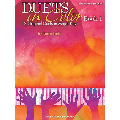 Willis Music Duets in Color - Book 1 (Early to Mid-Inter Level) Willis Series by Naoko Ikeda-thumbnail
