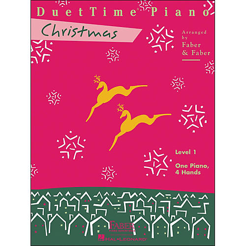 Faber Piano Adventures Duettime Piano Christmas Level 1 One Piano Four Hands - Faber Piano