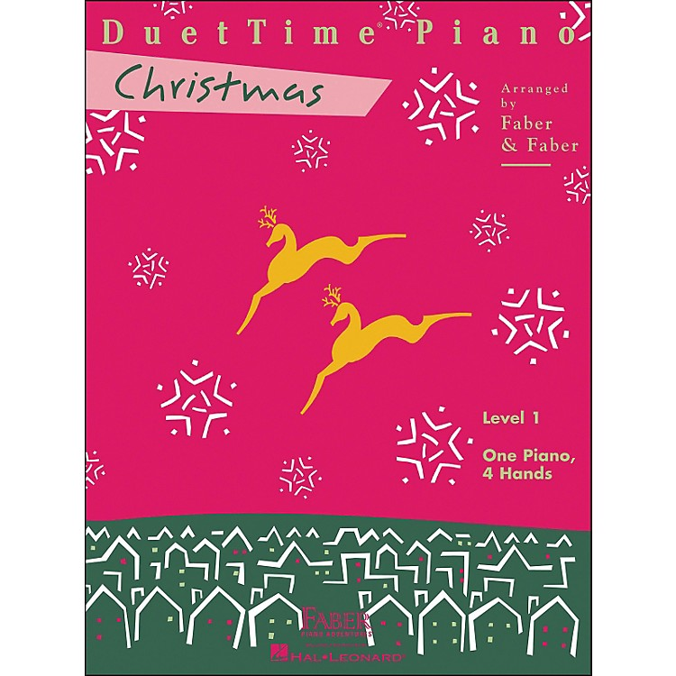 Faber Music Duettime Piano Christmas Level 1 One Piano Four Hands - Faber Piano