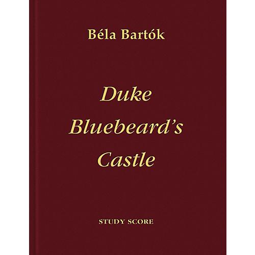 Bartók Records and Publications Duke Bluebeard's Castle Score Series Composed by Béla Bartók-thumbnail