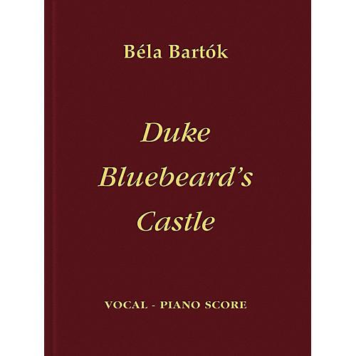 Bartók Records and Publications Duke Bluebeard's Castle Score Series Composed by Béla Bartók