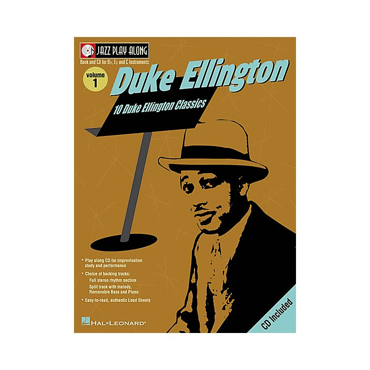 Hal Leonard Duke Ellington - Jazz Play Along, Volume 1 (Book/CD)