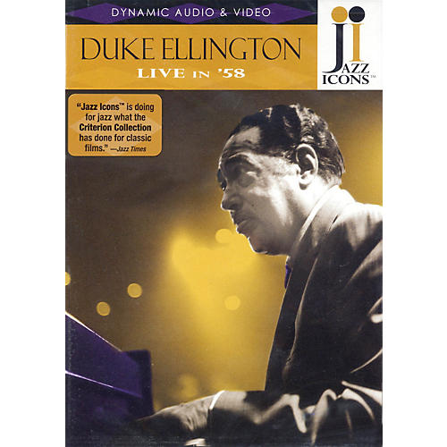 Jazz Icons Duke Ellington - Live in '58 Live/DVD Series DVD Performed by Duke Ellington-thumbnail
