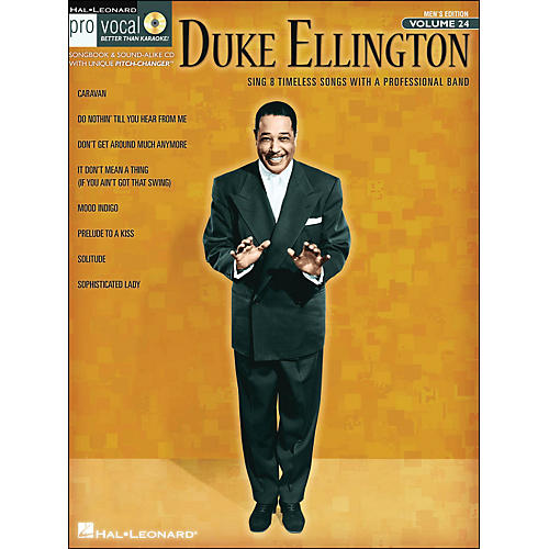 Hal Leonard Duke Ellington - Pro Vocal Songbook for Male Singers Volume 24 Book/CD-thumbnail