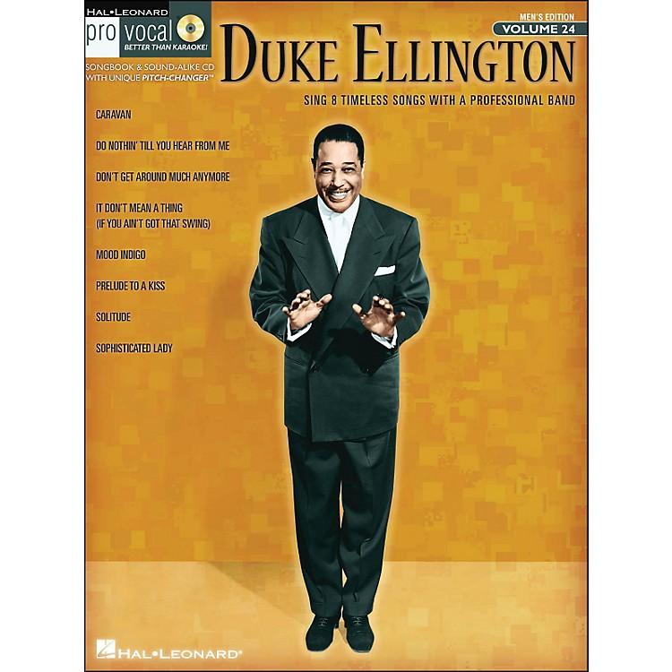 Hal LeonardDuke Ellington - Pro Vocal Songbook for Male Singers Volume 24 Book/CD