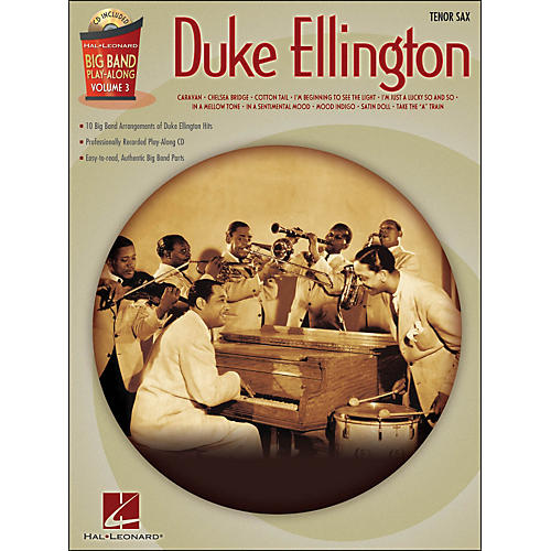 Hal Leonard Duke Ellington Big Band Play-Along Vol. 3 Tenor Sax