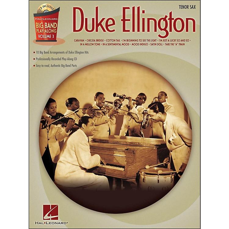 Hal LeonardDuke Ellington Big Band Play-Along Vol. 3 Tenor Sax