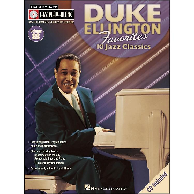 Hal LeonardDuke Ellington Favorites - Jazz Play-Along Volume 88 (CD/Pkg)