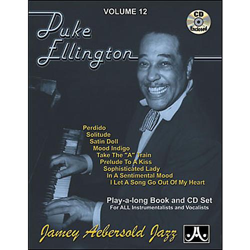 Jamey Aebersold Duke Ellington Play-Along Book and CD
