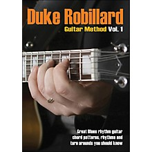 Hal Leonard Duke Robillard Guitar Method Vol 1 DVD