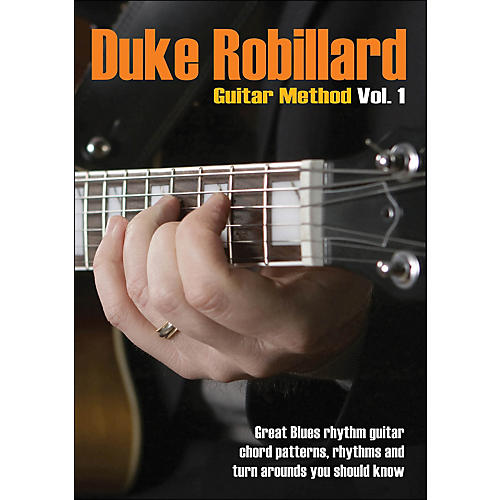 Hal Leonard Duke Robillard Guitar Method Vol 1 DVD