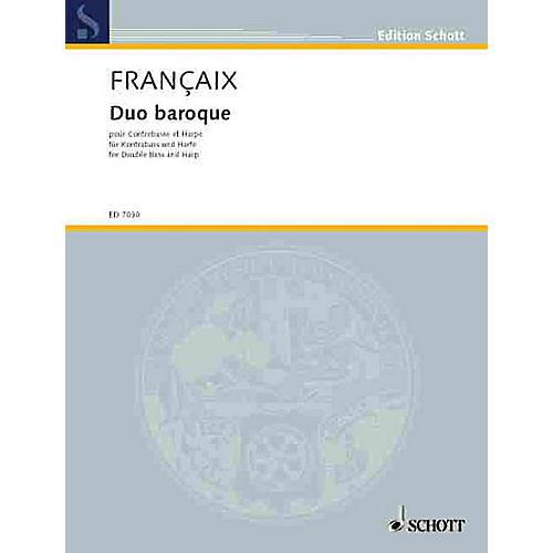 Schott Duo Baroque Schott Series Composed by Jean Françaix-thumbnail