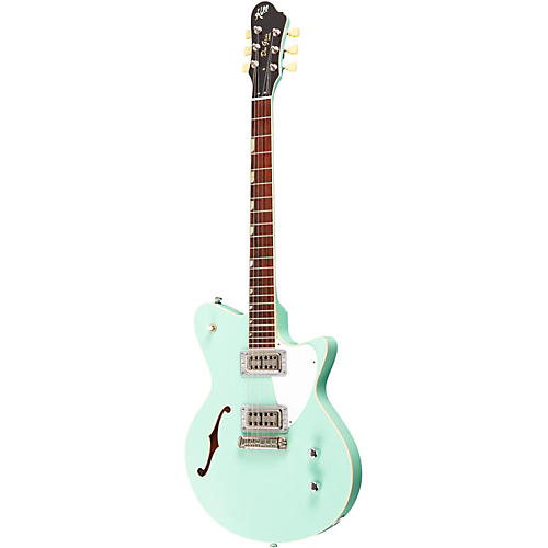 Koll Guitars Duo Glide Electric Guitar Surf Green