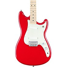 Fender Duo-Sonic Electric Guitar with Maple Fingerboard Torino Red