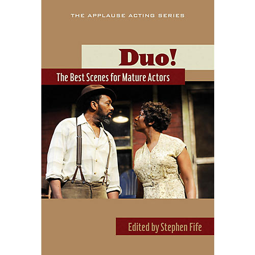 Applause Books Duo!: The Best Scenes for Mature Actors Applause Acting Series Series Softcover-thumbnail