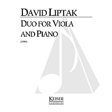 Lauren Keiser Music Publishing Duo (Viola with piano) LKM Music Series Composed by David Liptak