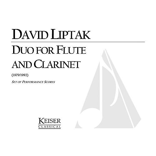 Lauren Keiser Music Publishing Duo for Flute and Clarinet LKM Music Series Composed by David Liptak-thumbnail