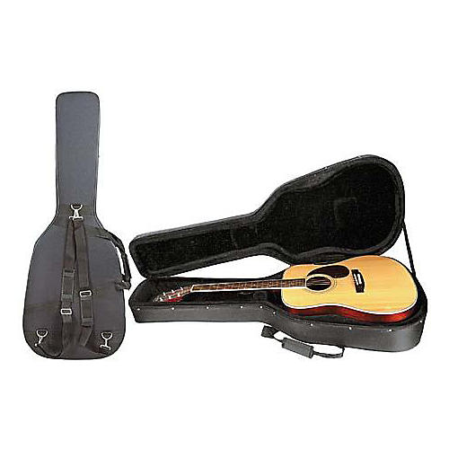 Musician's Gear Durafoam Shock-Resistant Dreadnought Guitar Case-thumbnail