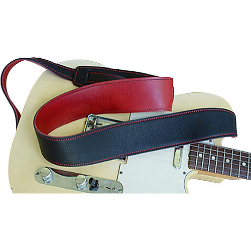 El Dorado Durango Suave Leather Strap Black/Red
