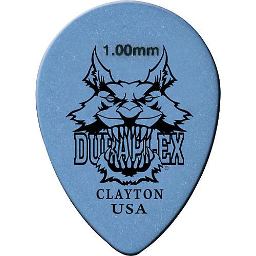 Clayton Duraplex Delrin Small Teardrop Picks 1 Dozen .73 mm