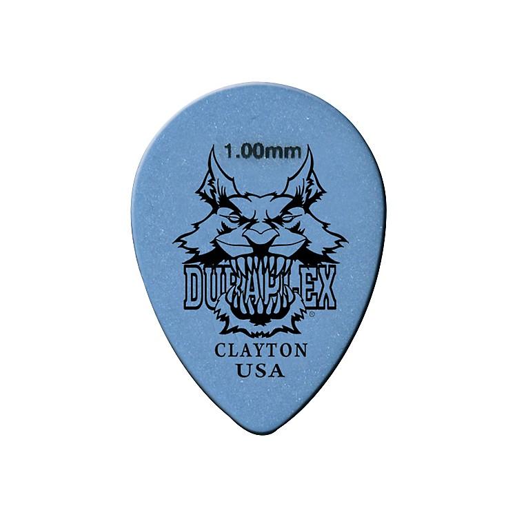 ClaytonDuraplex Delrin Small Teardrop Picks 1 Dozen.50 MM