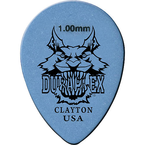 Clayton Duraplex Delrin Small Teardrop Picks 1 Dozen .88 mm