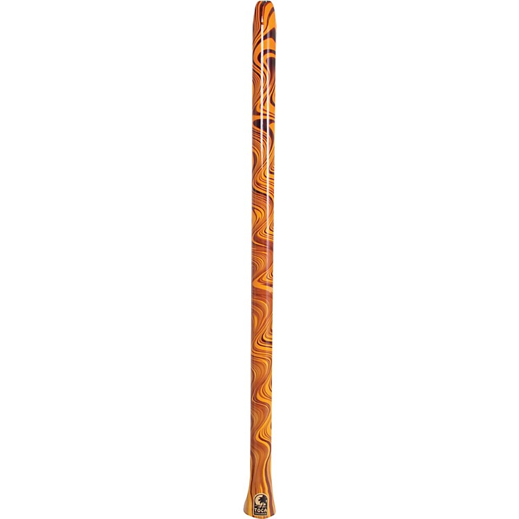 Toca Duro Didgeridoo Orange Swirl
