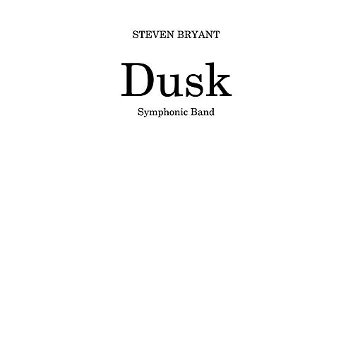 BCM International Dusk (Score and Parts) Concert Band Level 4 Composed by Steven Bryant-thumbnail