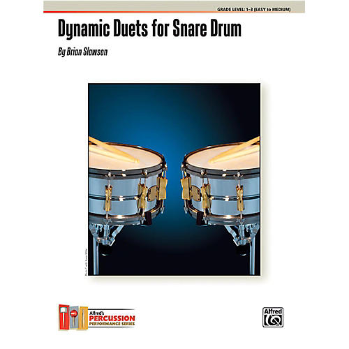 Alfred Dynamic Duets for Snare Drum Book-thumbnail