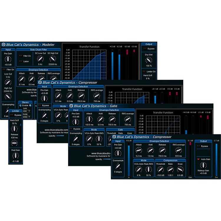Blue Cat Audio Dynamics All-In-One Processor Software Download