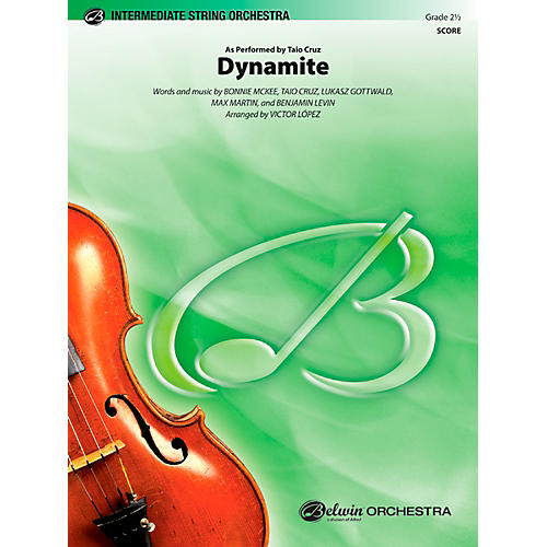 Alfred Dynamite String Orchestra Grade 2.5 Set