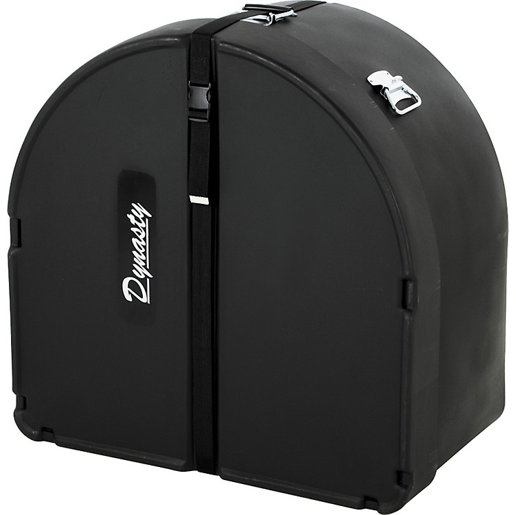 DEG Dynasty Marching Bass Drum Case Black 24 Inch