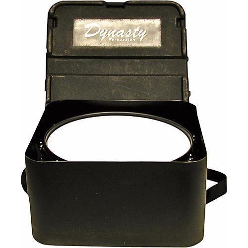 DEG Dynasty Marching Snare drum case, square, black molded for concert or Wedge snare Black Molded 14 in. Short