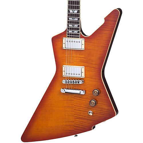 Schecter Guitar Research E-1 Standard Flamed Maple Electric Guitar-thumbnail