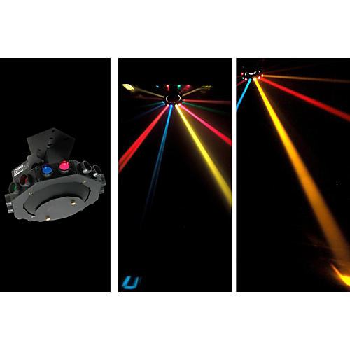 Eliminator Lighting E-113 Roto Saucer Rotating Multicolor Effect Light
