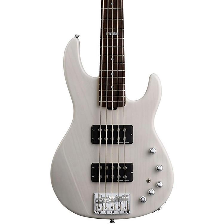 ESPE-II AP-5 5 String Electric Bass GuitarSee Thru White