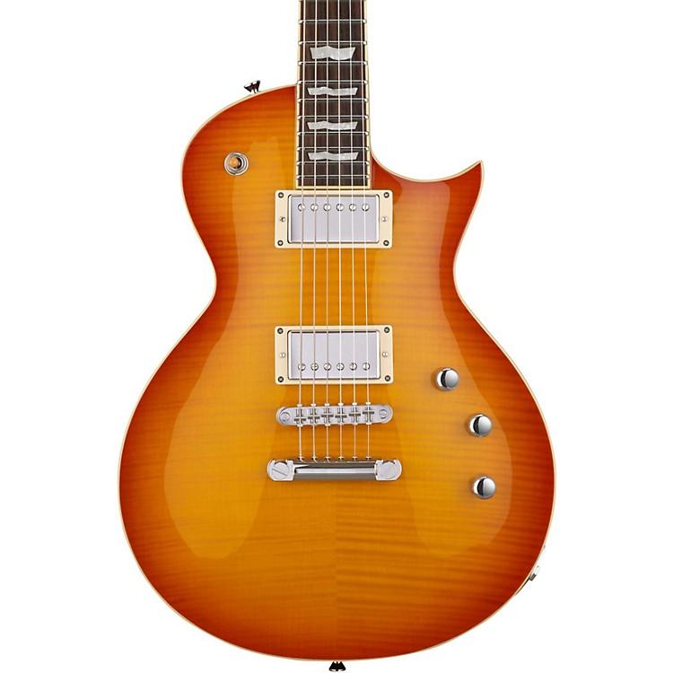 ESPE-II Eclipse Electric GuitarMarine BlueQuilted Maple