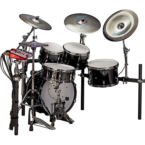 Pearl E-Pro Live Electronic Acoustic Drum Set With Zildjian Gen 16 Cymbals-thumbnail