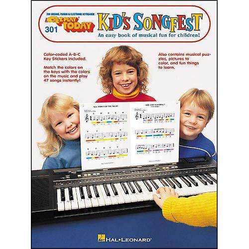 Hal Leonard E-Z Play 301 Kid Songfest