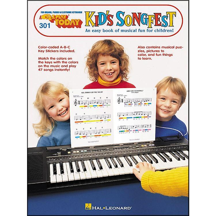 Hal LeonardE-Z Play 301 Kid Songfest
