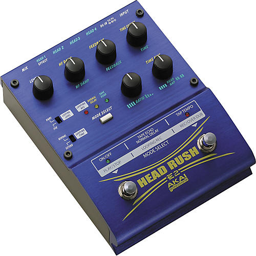Akai Professional E2 Headrush Delay/Looper Pedal