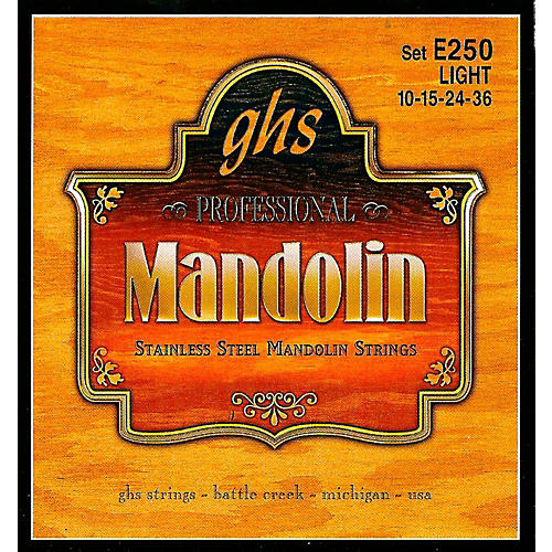 GHS E250 Stainless Mandolin Strings-thumbnail