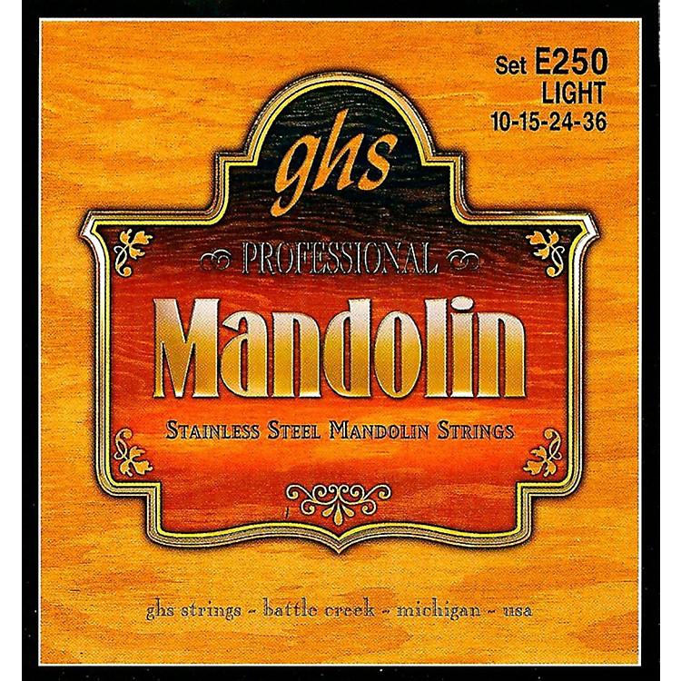 GHSE250 Stainless Mandolin Strings
