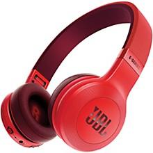 JBL E45BT On-Ear Wireless Headphones Red