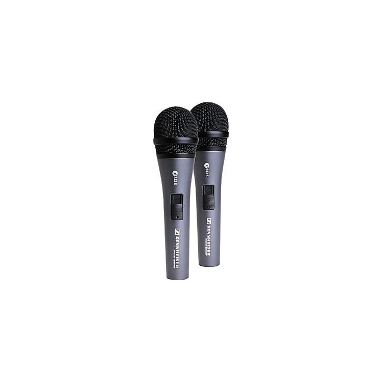 Sennheiser E822S Dynamic Handheld Vocal Microphone 2-Pack