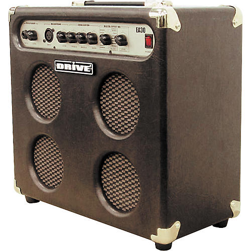 Drive EA30-V8G 4x5 30W Acoustic Combo with XLR Input and Effects-thumbnail